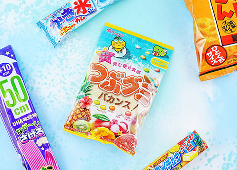 Tsubu Tropical Fruit Mix Gummies
