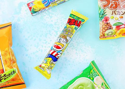 Umaibo Lemon Puff Stick