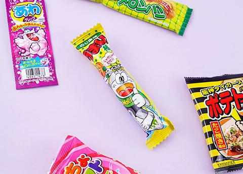 Umaibo Nori Shio Puff Stick
