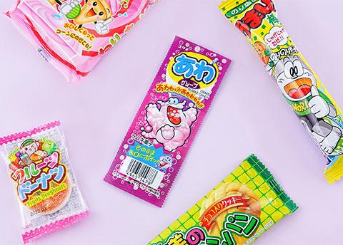 Coris Ramune Grape Gum
