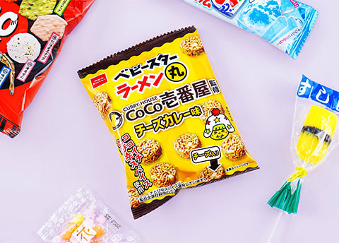 Baby Star x Coco Ichibanya Curry Noodle Snack